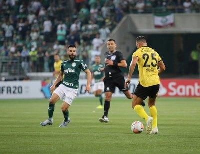 Un error arbitral y Guaraní cae ante Palmeiras en la Copa