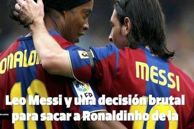 """Messi habría ofrecido ayuda a """"Dinho"""""""
