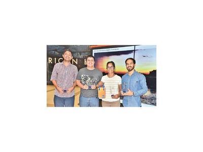 Premiación Atardecer en Paraguay
