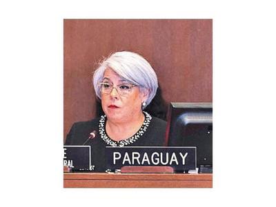 Embajadora recibe directiva en el MRE para elección en OEA
