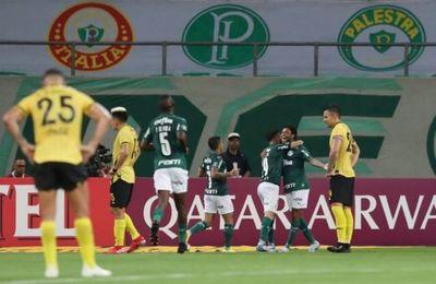 Guaraní sucumbe ante el poderío de Palmeiras