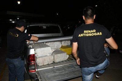 Incautan 400 kilos de cocaína en el límite entre Concepción y Amambay