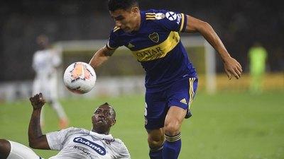 Boca goleó al DIM y nuevamente lució Junior Alonso