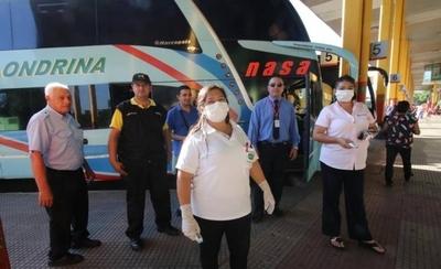 HOY / Intensifican control en la Terminal de Ómnibus de Asunción: hay un bus retenido