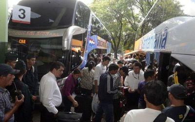 Intensifican control en la Terminal de Ómnibus de Asunción: hay un bus retenido