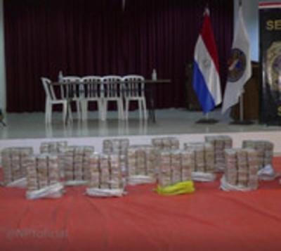 Senad decomisa más de 400 kilos de cocaína en Concepción