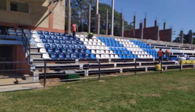 HOY / De a poco se va poniendo mejor el estadio de Guaireña