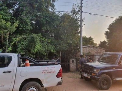 Policía investiga supuesto feminicidio en Mariano Roque Alonso