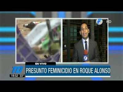 Otro feminicidio en Mariano Roque Alonso