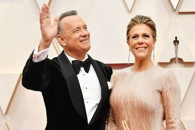 Tom Hanks y su esposa Rita Wilson confirman que padecen el COVID-19