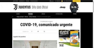 Un jugador de la Juventus da positivo por coronavirus