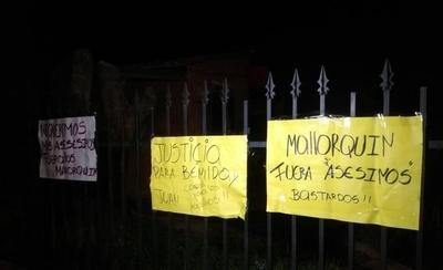 HOY / Muerte en pelea vecinal: queman la casa de supuestos autores