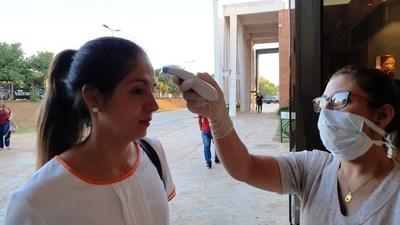 Municipalidad implementa control contra coronavirus •