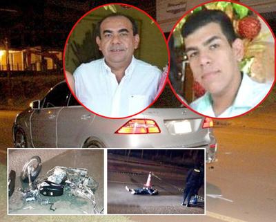 Hijo de Elio Cabral y Perla Rodríguez negoció la vida de un joven muerto en accidente de tránsito