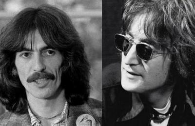 Esta es la última fotografía de John Lennon y George Harrison juntos