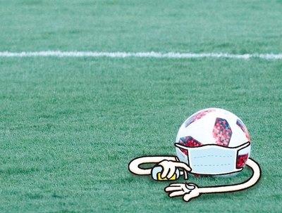 El coronavirus obligó a parar el fútbol