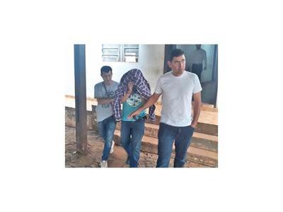 Marino es detenido e imputado en CDE