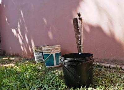 Acuciante falta de agua potable en Luque •