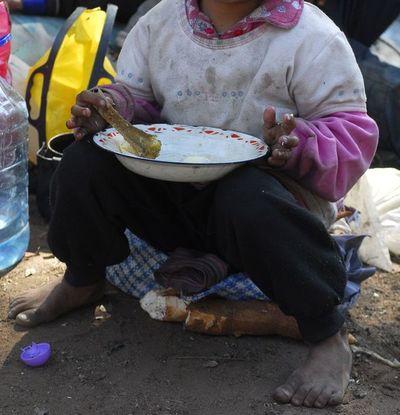 """Enviada especial de la ONU: """"No nos olvidemos de los hambrientos"""""""