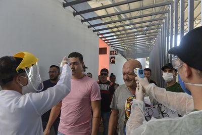Coronavirus: intensifican controles en Puente de la Amistad