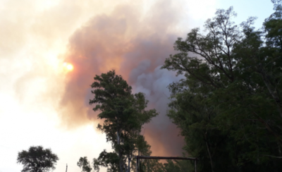 HOY / Incendio de gran magnitud afecta a zonas rurales en Pilar