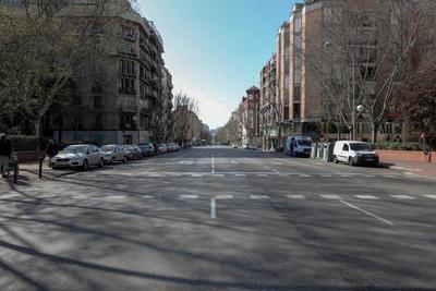 El estado de alarma vacía las calles de España