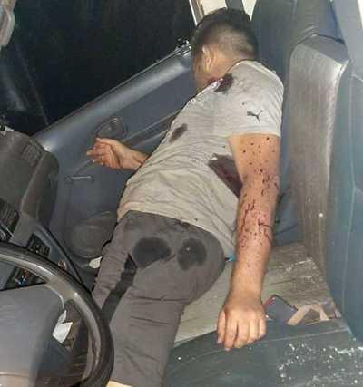 SICARIOS mataron a una persona dentro de su VEHÍCULO en Minga Guazú