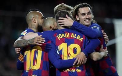 Barcelona reclamaría el título si La Liga queda definitivamente suspendida