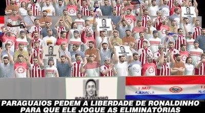 """""""RONALDINHO LIVRE E PARAGUAIO"""""""