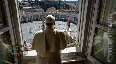 Papa bendice una desolada plaza de San Pedro a consecuencia del coronavirus