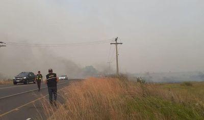 Incendio en parque nacional