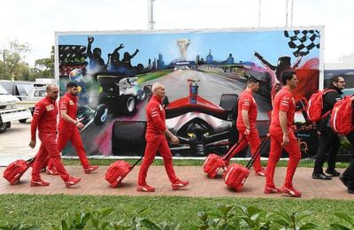 Suspensión temporal de Ferrari en su  producción