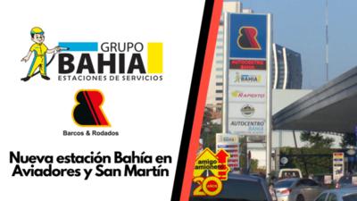Grupo Bahia inauguró nueva estación estratégica agasajando a sus clientes