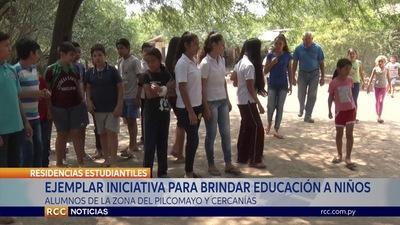 EJEMPLAR INICIATIVA PARA BRINDAR EDUCACIÓN A NIÑOS DEL CHACO