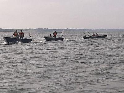 Limitan navegación en el río Paraná