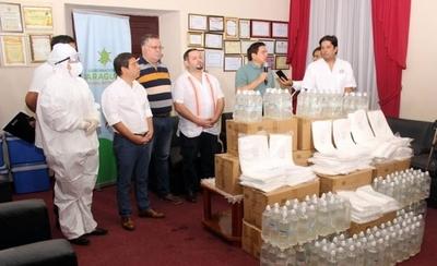 HOY / Dotan de insumos médicos y hospitalarios a hospitales de Paraguarí