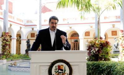"""HOY / Maduro pide prestado a los que califica como """"sicarios del mundo"""""""