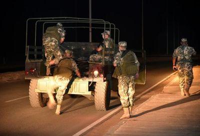 Segundo día de restricción de tránsito, marcado por presencia de militares