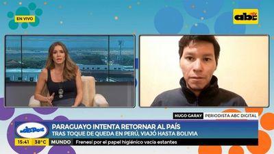 Covid-19: Paraguayo intenta retornar al país