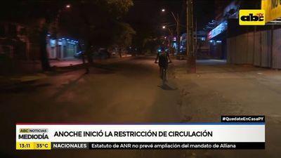Policía Nacional destaca cumplimiento de restricción e insta a confiar en los organismos intervinientes