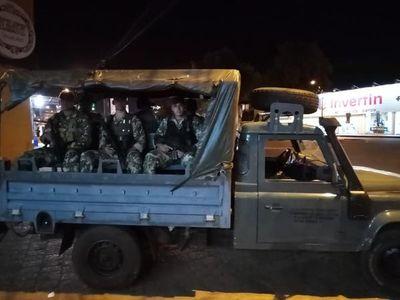 "Militares salen a las calles solo para ""concienciar"""