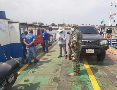 Carmelo Peralta: Puerto Murtinho aplica el control de ingreso de personas en frontera