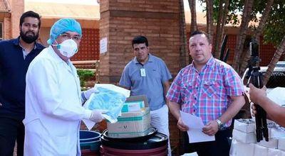 Destinan insumos básicos a hospitales de Hernandarias y Santa Rosa del Monday