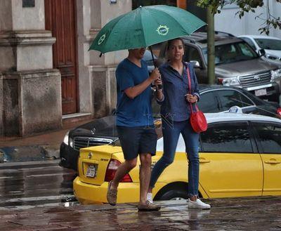 Anuncian lluvias con tormentas eléctricas para 4 departamentos