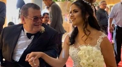 Friedmann Cresta querella a su joven esposa luego de revelar mensajes en los que admite que se casó con él únicamente por su dinero