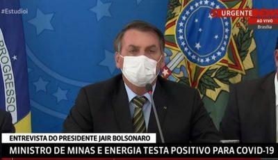 Bolsonaro claudica ante el coronavirus