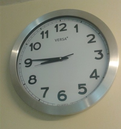 Este domingo los relojes se deben atrasar 60 minutos