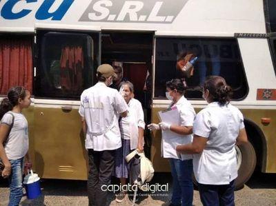 Covid-19: Pilar suspende viajes de transporte público por 10 días