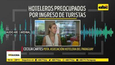 Hoteleros, preocupados por ingreso de turistas