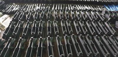 Incautan gran cantidad de armas en el aeropuerto Guaraní